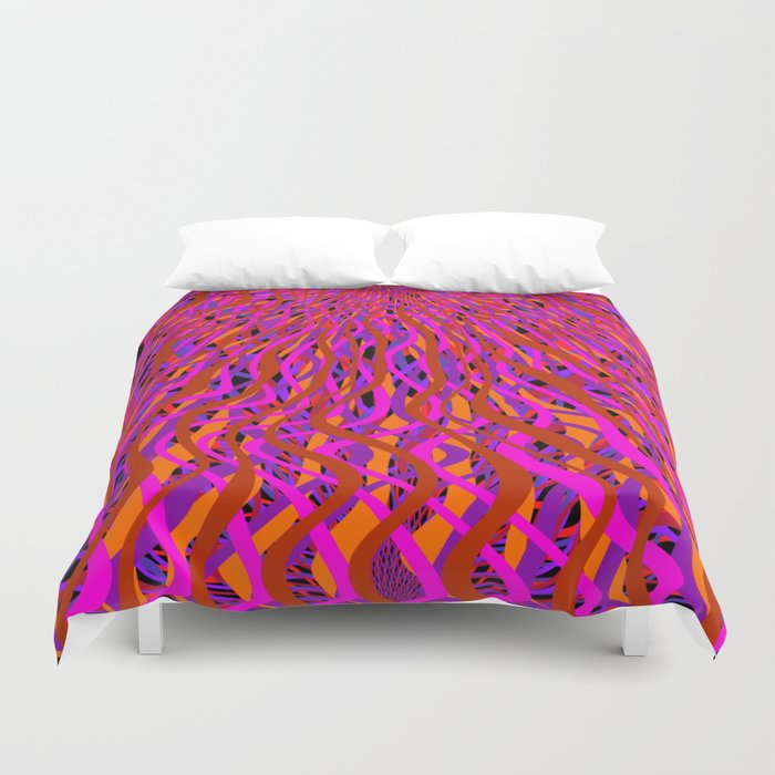 rise and fall Duvet Cover
