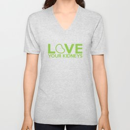 Love Your Kidneys Unisex V-Neck