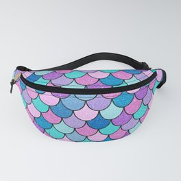 Sparkle Scales Fanny Pack
