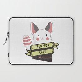 Champion Cute Laptop Sleeve