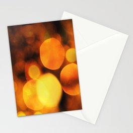 Coloured Bokeh Stationery Cards