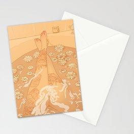 Flower Bath 10 (uncensored version) Stationery Cards