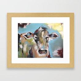 The Original Cow Framed Art Print