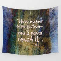 dali Wall Tapestries featuring Dali quote by Menchulica