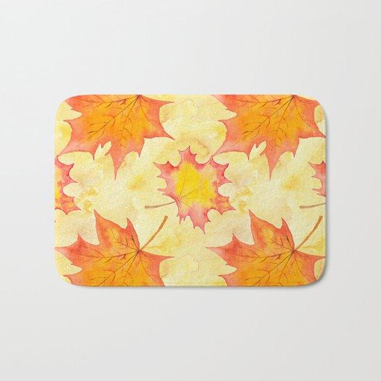 Autumn leaves #15 Bath Mat