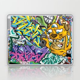 PAGER Collage Royal Stain Laptop & iPad Skin