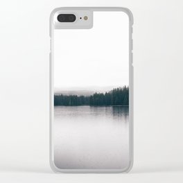 Forest Lake II Clear iPhone Case