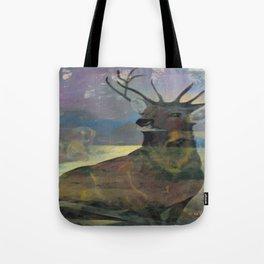 """White Tail Deer"" Tote Bag"