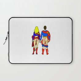 Superhero Butts Love 1 - Super Birds Laptop Sleeve