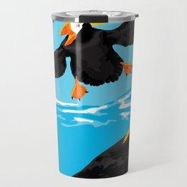 Bering Sea Puffins Travel Mug