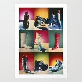La Bota (The Boot) Art Print