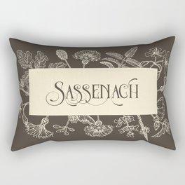 Sassenach in Sepia Rectangular Pillow