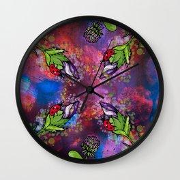 Ladybug_5 Wall Clock