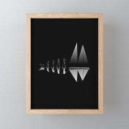 Sailor Evolution Framed Mini Art Print
