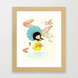 장마   Rainy Season Framed Art Print