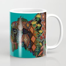bison teal Mug