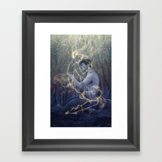 Worlds Framed Art Print