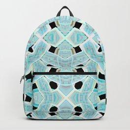 Neon Tile Pattern Backpack