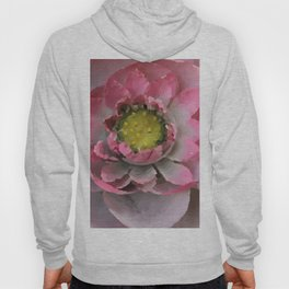 Lotos - Lotus Flower big close up Illustration Hoody