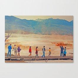NATURE CATWALK Canvas Print