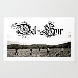 Del Sur - The Drifter Art Print