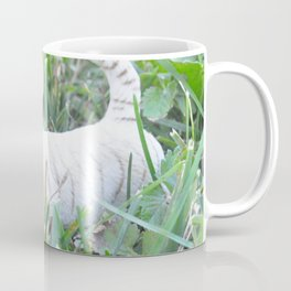 White Tiget Coffee Mug