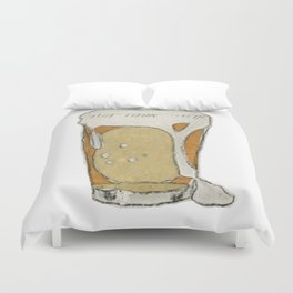 A cold one Duvet Cover