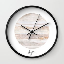 Jupiter planet Wall Clock