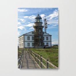 Cabo Penas Lighthouse Metal Print