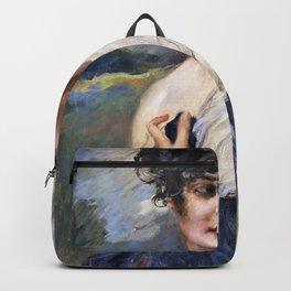 Leopold Schmutzler - Portrait of a lady - Digital Remastered Edition Backpack