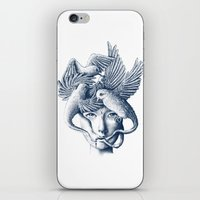 breathe iPhone & iPod Skins featuring Breathe by Norman Duenas