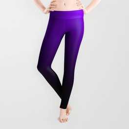 black and purple Leggings