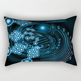 Abstract twirl Star Rectangular Pillow
