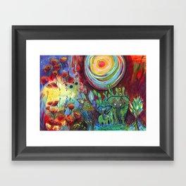 Our Sun Framed Art Print