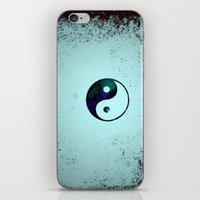 yin yang iPhone & iPod Skins featuring Yin & Yang by Mr and Mrs Quirynen