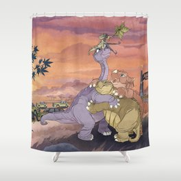 Great Valley Tours Shower Curtain