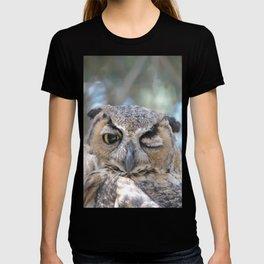 Owl Wink T-shirt