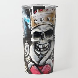 Las Vegas Skull Graffiti Travel Mug
