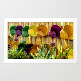 Gardening Helpers Art Print
