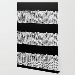 Half Knit  Black Wallpaper