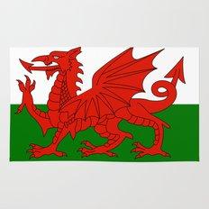 Welsh national flag Rug