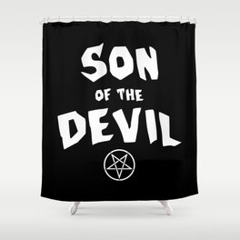 Son of the Devil Shower Curtain