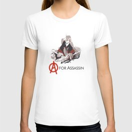 A for Assassin T-shirt