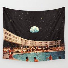 Lunar Pool Life Wall Tapestry