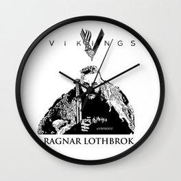 Vinkings - Ragnar Lothbrok Wall Clock