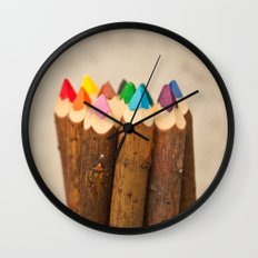 Color Me Free I Wall Clock
