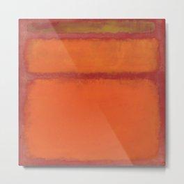 1961 Orange, Red, Yellow Metal Print