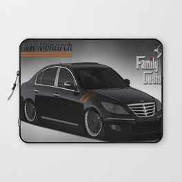 Black Monarch Laptop Sleeve
