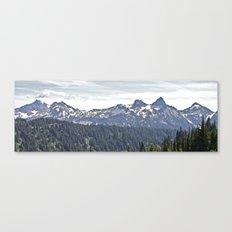 Smoky Skyline Canvas Print