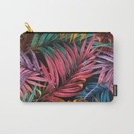 Colorful Palm Leaves Carry-All Pouch